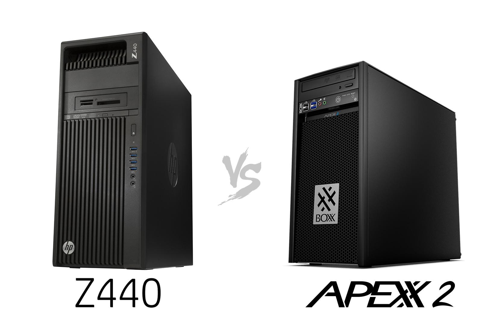 Hp Z Workstations Vs  Boxx